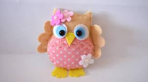 how to make a pretty felt and fabric owl diy crafts tutorial