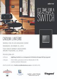 Showroom Invitation Card Upcoming Ceu Event Carolina Lanterns Custom Residential