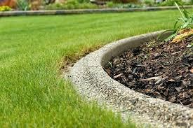 diy concrete edging concrete garden edging concrete landscape