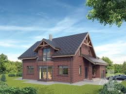 Traditional 2 Story House by Dominykas Single Storey Traditional Exceptional Residential House