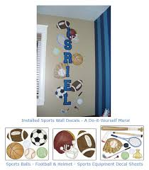 Kids Room Borders by Sports Theme Wall Art For Baby Nurseries Kids Rooms Sports Wall