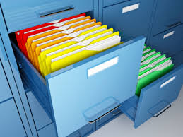 how to organize a file cabinet system paper management simplicity