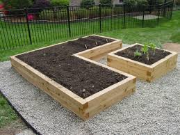 best raised garden bed height home outdoor decoration
