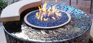 gas pit glass aesthetic pit glass stones fireplaces firepits