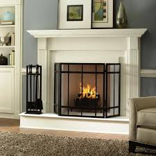 fireplace screens home depot home fireplaces firepits best