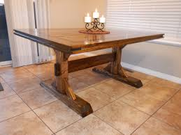 rustic dining table diy restoration hardware inspired diningrustic