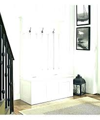Entry Storage Cabinet White Entryway Storage Entryway Tree With Storage Bench Front