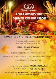 thanksgiving dinner international speaking community of