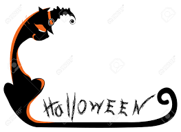halloween cat vector royalty free cliparts vectors and stock