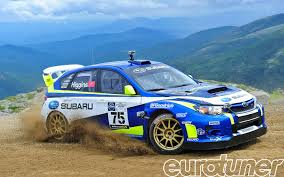 subaru sti rally car david higgins subaru wrx sti mt washington hillclimb record on