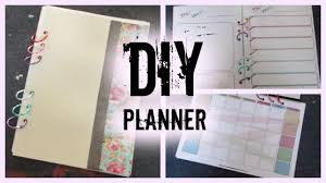 your own planner diy planner i how to make your own planner from scratch