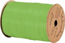 wraphia ribbon 74900 30 matte celadon green wraphia ribbon 1 4 x 100 yards