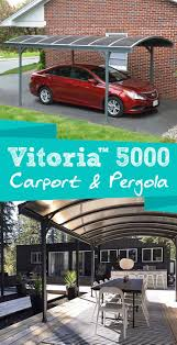 30 best carport images on pinterest diy carport car ports and the vitoria 5000 carport s upscale design makes it a versatile all around structure protect