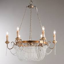 Iron Chandelier With Crystals Crystal Chandeliers Shades Of Light