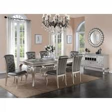 silver dining room table sofia vergara paris silver 5 pc dining