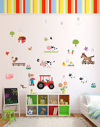 fun old macdonald had a farm animals nursery rhyme wall stickers fun old macdonald had a farm animals nursery rhyme wall stickers wall decals which come to life in childrens bedrooms kids playrooms and baby nursery
