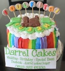 wedding cake bogor idul fitri rainbow cakes darrel cakes bogor