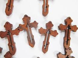 small wood crosses wholesale lot of 200 small wood crosses detailed ebay