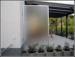 windschutz balkon plexiglas sichtschutz terrasse glas terrasse hause dekoration bilder