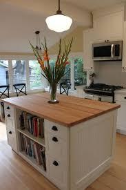 red oak wood dark roast amesbury door portable kitchen island ikea