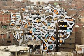 Wall Mural Sunlight In The Giant Mural Brings Sunlight To Cairo S Garbage District Middle