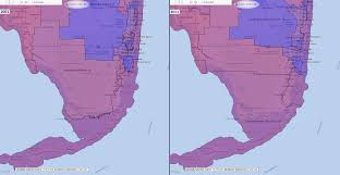 Florida Congressional Districts Map by Florida Congressional Districts Comparison 2001 2011