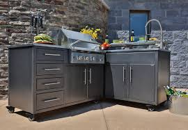modular stainless steel outdoor kitchen cabinets choosing