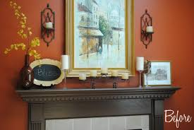 summer mantel with frappe accents jenna burger