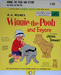 winnie the pooh upside down books jimmy stewart on the air rca also supplied record stores with special divider cards for the record bins containing these records there was a different card for each set