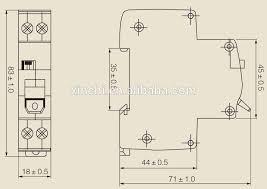 63a 80a 100a 230 400v 10ka sdrnl rccb elcb circuit breaker rccb