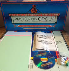 your own opoly board game property trading paul lamond