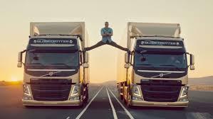 2013 volvo truck commercial jean claude van damme