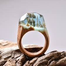 rings wooden images Miniature worlds crafted inside wooden rings by secret wood jpg