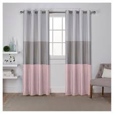 Grey Faux Suede Curtains Faux Suede Curtain Panels Target