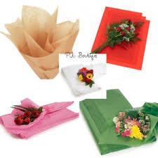 floral tissue paper floral waxed tissue paper bouquet wrapping 24 x36 x large sheets