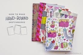 diy sketchbooks for your valentine think make share