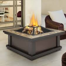 Firepit Wood Real Alderwood Steel Wood Burning Pit Table Reviews