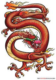 amazing traditional chinese dragon tattoo design