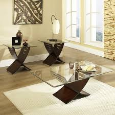 table classy modern coffee table set silver madrid 2 piece metal