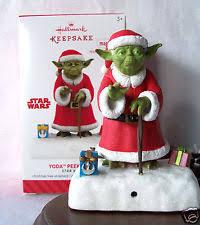 yoda ornament ebay