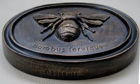 bumble bee home decor home décor house parts inc oval bumble bee bronzed wall plaque