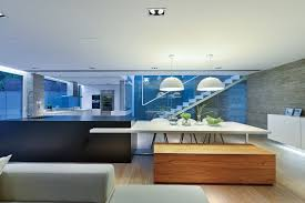 concrete house interior imanada simply elegant at the lake design
