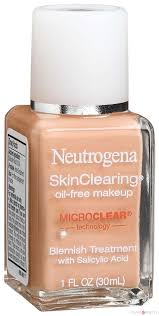neutrogena skin clearing makeup best foundations for oily skin