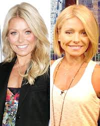 kelly ripper hair style now kelly ripa s new bob better now or before
