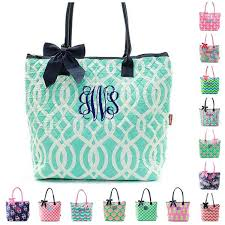 monogrammed quilted bags duffles totes giftshappenhere