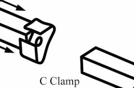 Bed Frame Clamp Classic C Clamp Bed Frames All American Frame And Bedding