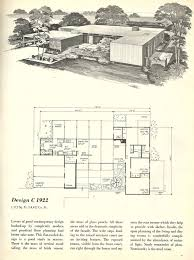 Best Mid Century Architecture Images On Pinterest Vintage - Mid century modern home design plans