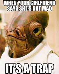 Mad Girlfriend Meme - 7 funny things girlfriends do when they are angry scooppick com