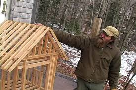 how to build a small wood frame house