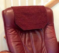 Covers For Recliners Chair Recliner Headrest Cover Swirl Tree Machine Embroidered Www